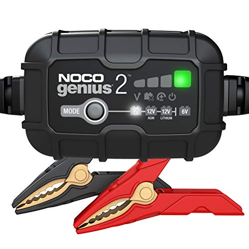 NOCO GENIUS2, 2-Amp Fully-Automatic Smart Charger, 6V and 12V Battery...