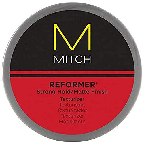 Paul Mitchell MITCH Reformer Texturizing Hair Putty for Men, Strong Hold,...
