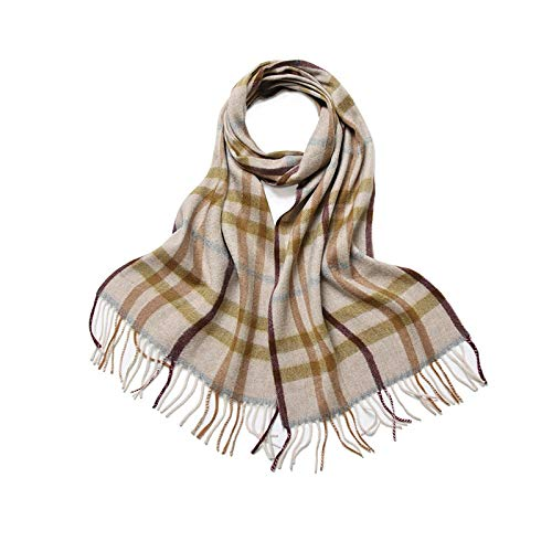 FENGHUAN Autumn and Winter Scarf Simple Leisure Wild Cashmere Scarf British...