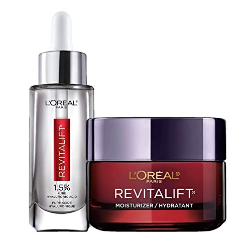 L'Oreal Paris Hyaluronic Acid Serum For Face with Vitamin C and Triple...