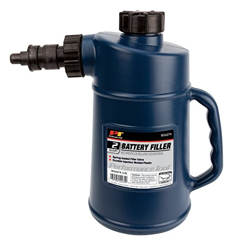 Performance Tool W54274 Battery Filler with Auto Shut Off and Drip-Free...