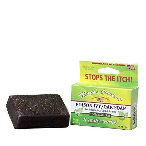Marie's Original Poison Ivy Soap Bar – 100% All Natural Triple Acting...