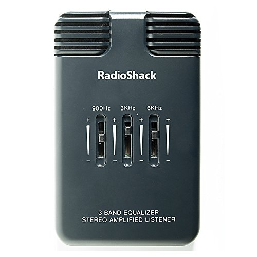 RadioShack Stereo Amplified Listener with 3-Band Equalizer - Compact,...