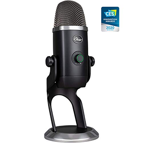 Blue Yeti X USB Microphone for PC & Mac, Gaming, Podcast, Streaming and...