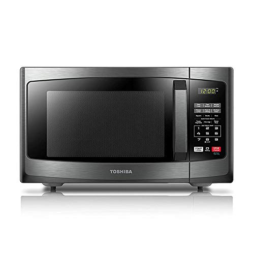 Toshiba EM925A5A-BS Microwave Oven with Sound On/Off ECO Mode and LED...