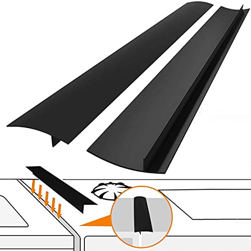 Kitchen Silicone Stove Counter Gap Cover with Heat Resistant Wide & Long...