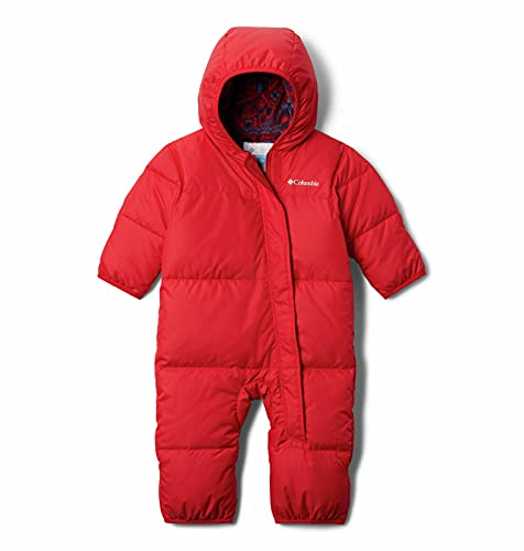 Columbia Baby Snuggly Bunny Bunting, Mountain Red, 3/6