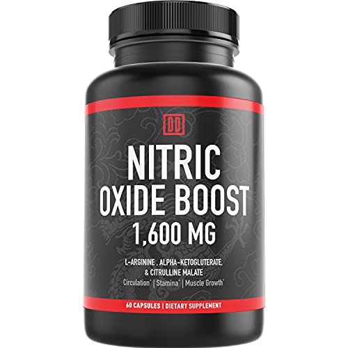 Nitric Oxide Booster Supplement, 1600mg Extra Strength L-Arginine,...