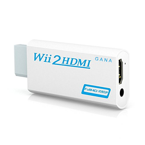 Wii to hdmi Converter, Gana wii to hdmi Adapter, wii to hdmi1080p 720p...