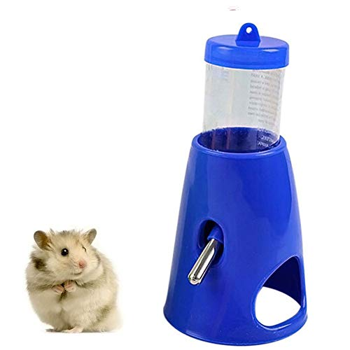 Pet Small Animals Hamster Hideout Drinking Waterer 2-in-1 Water Bottle for...