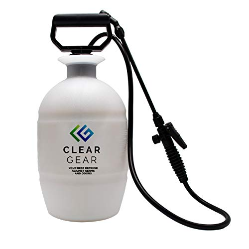 Clear Gear Disinfectant Spray Empty 1 Gallon Sprayer - Disinfecting and...