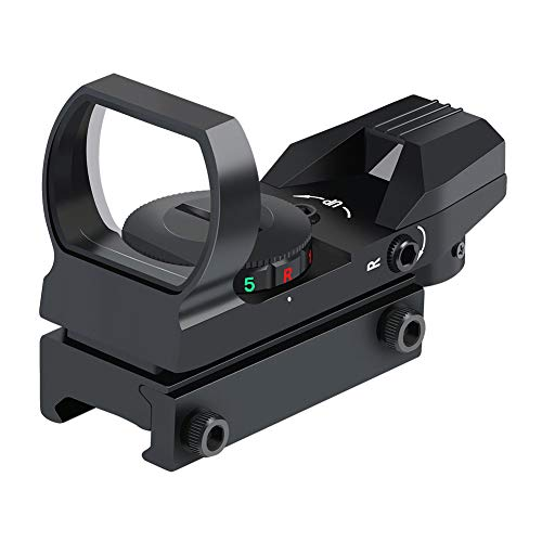 Feyachi Reflex Sight - Adjustable Reticle (4 Styles) Both Red and Green in...