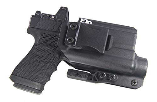 Fierce Defender IWB Kydex Holster Compatible with Glock 19 23 32 Optic Cut...