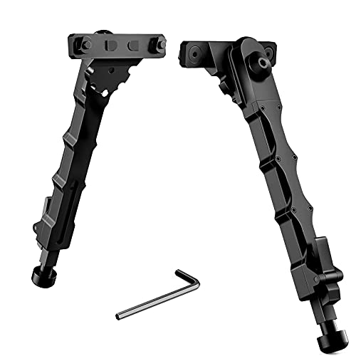 Beileshi Tactical M-LOK Bipod 7.5-9 Inches for Outdoor,Range,Hunting and...