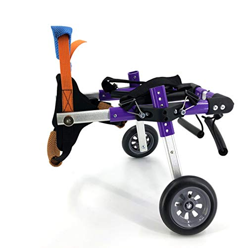 SYLPHID Adjustable Dog Wheelchair for Hind Legs Rehabilitation, for Dogs...