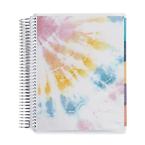 7' x 9' Coiled Monthly Planner (August 2021 - July 2022) - Sunlight Tie...