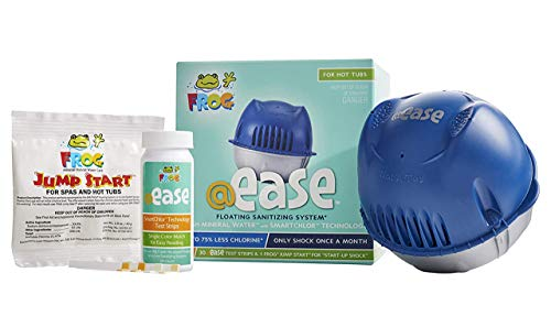 Frog @Ease Floating Sanitizing System for Hot Tubs and Hot Tub Water...