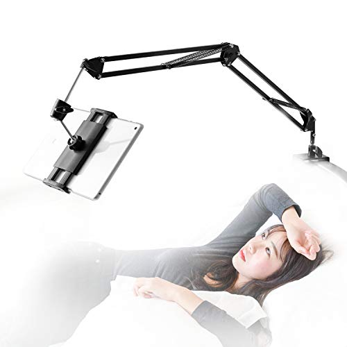 Tablet Stand for Bed,360 Degree Rotating Bed Tablet Mount Holder Stand with...