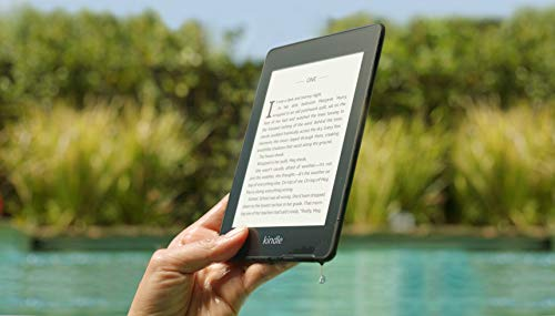 Kindle Paperwhite – (previous generation - 2018 release) Waterproof with...