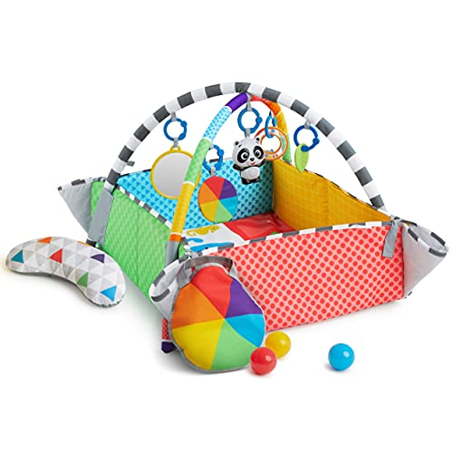 Baby Einstein Patch's 5-in-1 Color Playspace Activity Play Mat & Ball Pit...
