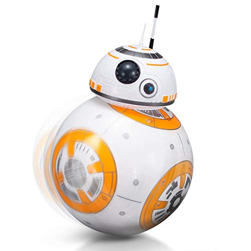 8-Inch 2.4G RC BB-8 Rolling Astromech Droid Remote Control Robot SW - The...