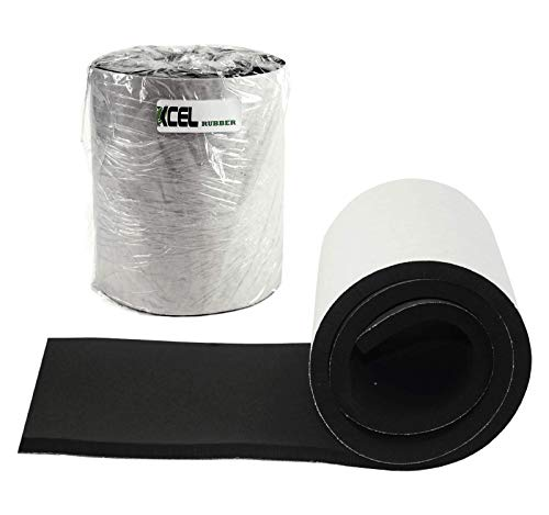 XCEL Super Versatile Rubber Pads with Strong Adhesive, Great Vibration...