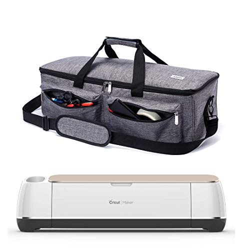 ARSH Carrying Case Compatible with Cricut Explore Air and Maker, Tote Bag...
