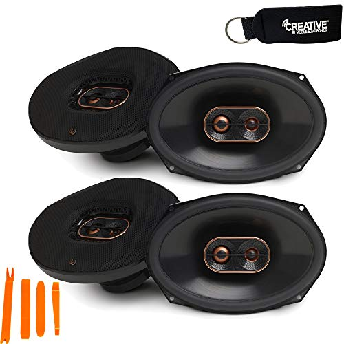 Infinity - Two Pairs of REF-9633IX Reference 6x9 Inch Three-Way car Audio...