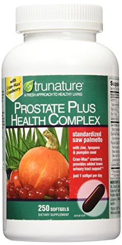 Trunature Saw Palmetto Prostate Health Complex with Zinc, Lycopene and...