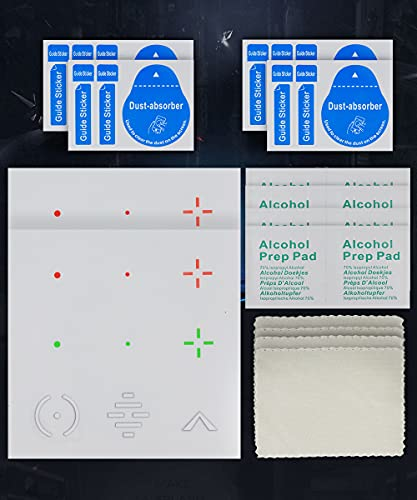 Reusable Transparent Aim Sight Assist Decals - FastScope TV or Monitor...