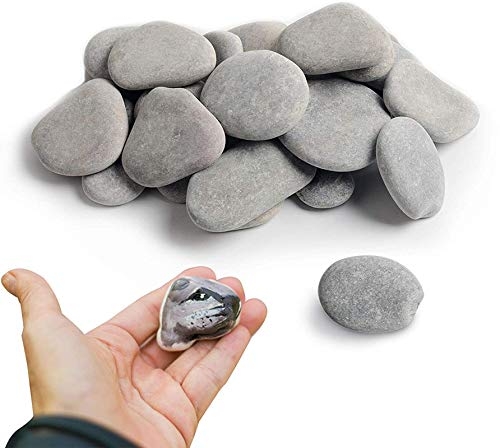 35 Painting Rocks Craft Rocks Stones for Rock Painting,Smooth Painting...