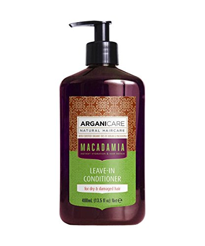 Arganicare Hydrating Macadamia Leave in Conditioner for Dry and Damaged...