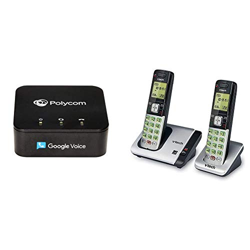 Obihai OBi200 1-Port VoIP Adapter with Google Voice and Fax, Black & VTech...