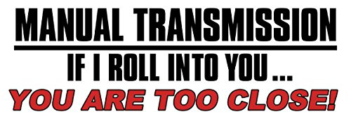 American Vinyl White Manual Transmission - If I Roll Into You. Too Close...