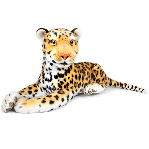 Leah The Leopard - 17 Inch (Tail Measurement Not Included) Stuffed Animal...