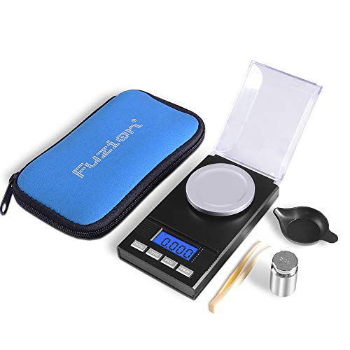 Fuzion Digital Milligram Scale 50g/ 0.001g, Portable Jewelry Scale with LCD...