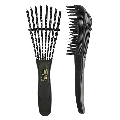 TMC Detangling Brush Afro Hair Products for Natural Hair Wavy, Curly,...