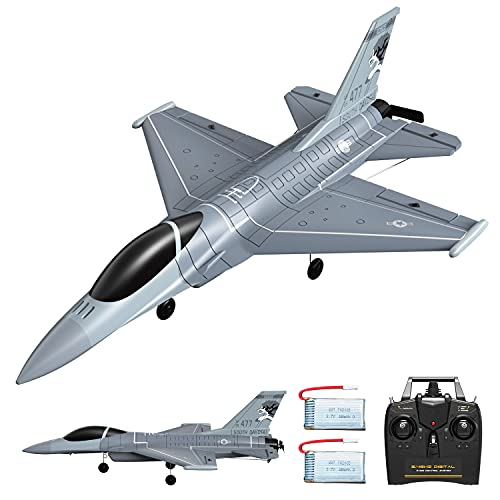 VOLANTEXRC 4 Channel Remote Control Airplane 2.4GHz RC Jet F-16 Fighting...