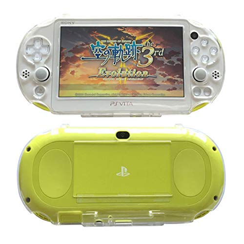SNNC Playstation Vita 2000 Full Cover Skin Crystal Clear Hard Case for...