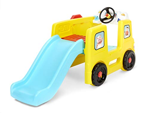 Little Baby Bum Wheels on the Bus Climber and Slide with Interactive...