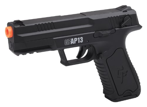 GAME FACE GFAP13 AEG Electric Full/Semi-Auto Airsoft Pistol With Battery...
