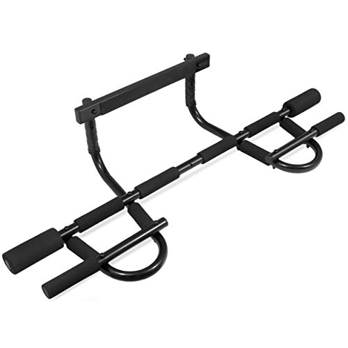 ProsourceFit Multi-Grip Chin-Up/Pull-Up Bar, Heavy Duty Doorway Trainer for...