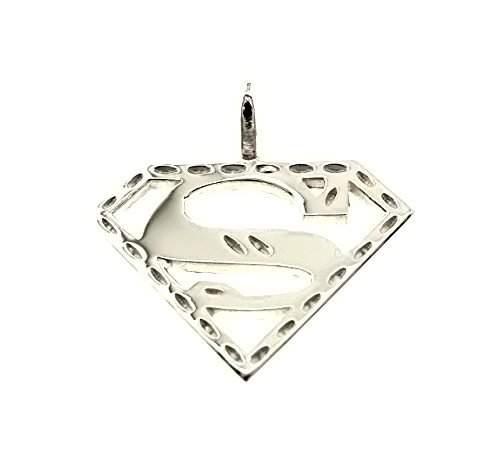 Shin Brothers Inc. Sterling Silver Superman Charm (Small) Come with a Free...