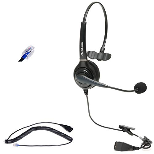 Polycom Phone Headset Compatible with Polycom VVX Series, CX Series and...