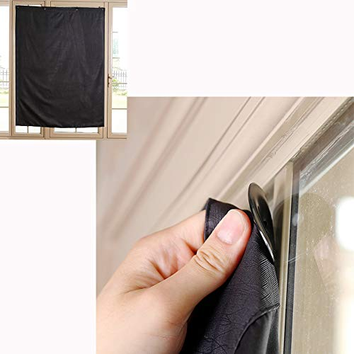 TOGRAND Temporary Portable Blinds Blackout Curtain Shade Adjustable Size...