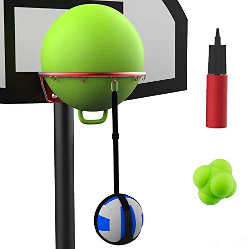 Volleyball Spike Trainer Basketball Hoop - Great Home Training Equipment...