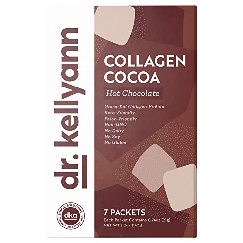 Keto Cocoa Hot Chocolate Packets To Go by Bone Broth Expert Dr. Kellyann -...