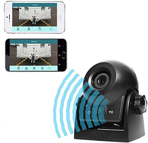 Wireless Backup Dash Cam, MHCABSR WiFi Reversing Camera Work with Phone...