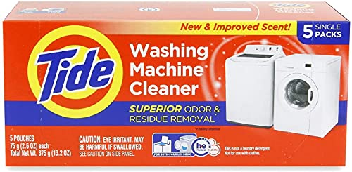 Washing Machine Cleaner by Tide, Washer Cleaning Tablets for Front and Top...