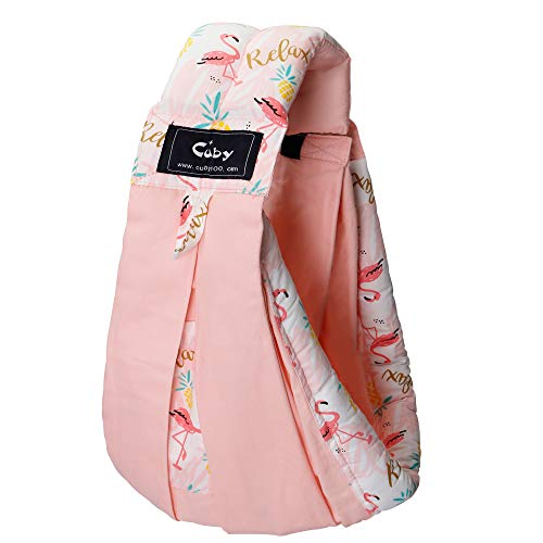 Baby Carrier by Cuby, Natural Cotton Baby Sling Baby Holder Extra...